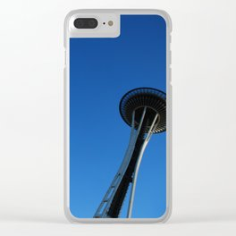 Seattle reaches the sky! Clear iPhone Case