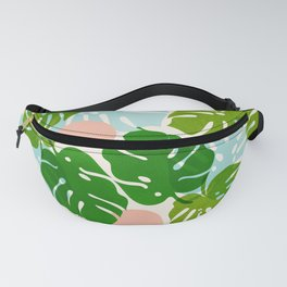 Abstraction_FLORAL_NATURE_Minimalism_001 Fanny Pack
