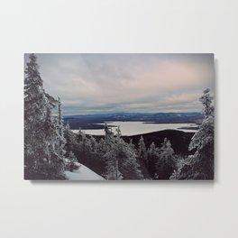 Winter on Bigelow Metal Print