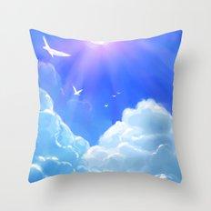 Coroazul Throw Pillow