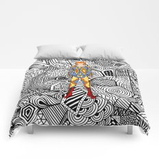 Bowie Fashion 1 Comforters