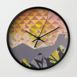 Mountain Landscape 1 Wall Clock