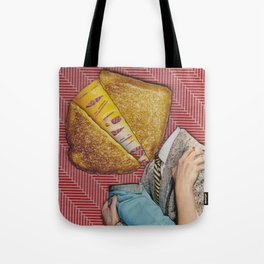 Grilled Cheese Love No. 28 Tote Bag