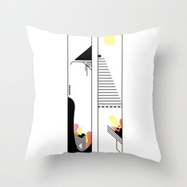 0 typo Throw Pillow