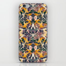 Boujee Boho Fall Collection Dramatic Fleur iPhone Skin