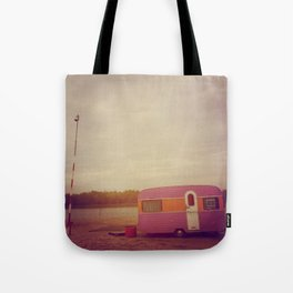 Faded Caravan Tote Bag
