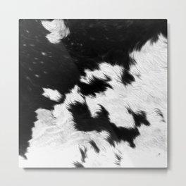 Cowhide Metal Print