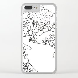 Texas Hill Country Clear iPhone Case