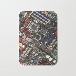 Computer motherboard Bath Mat