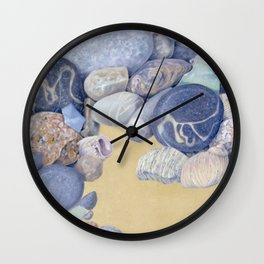 Beach Front I Wall Clock