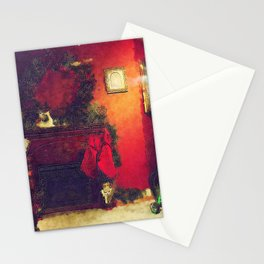 By The Chimney With Care Stationery Cards