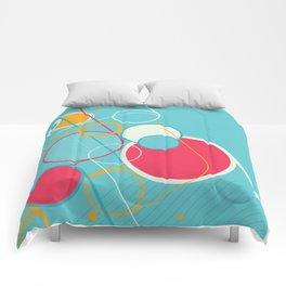 Ventana Azul Comforters