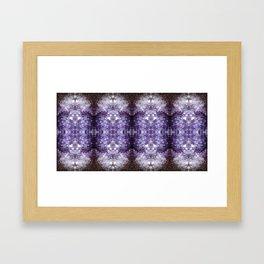 Reflected Amethyst Framed Art Print