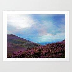 Llangollen, Wales, UK Art Print