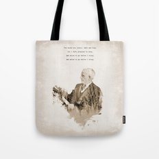 Miles To Go, Before I Sleep. Tote Bag