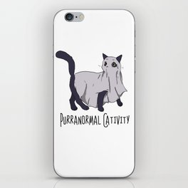 Purranormal Cativity: The Feline Dimension iPhone Skin