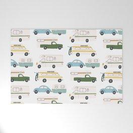 Vintage RV Motorhome Trailers Campers Welcome Mat