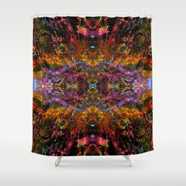DMT Realms Shower Curtain