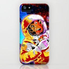 SPACE CHIMP iPhone Case
