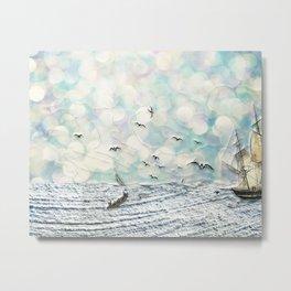 And the Sea Metal Print