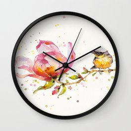 Magnolia & Buddy Wall Clock
