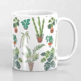 flowerpots pattern Coffee Mug