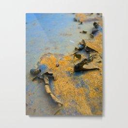 Rusty Surface Metal Print