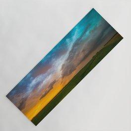 Glorious - Stormy Sky and Kansas Sunset Yoga Mat