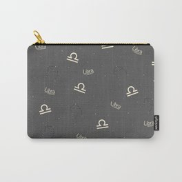 Libra Pattern Carry-All Pouch