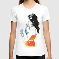mother T-shirts featuring Mother by la belette rose