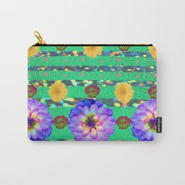 Funky Florals Carry-All Pouch