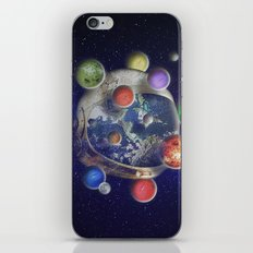 Orbiting iPhone Skin