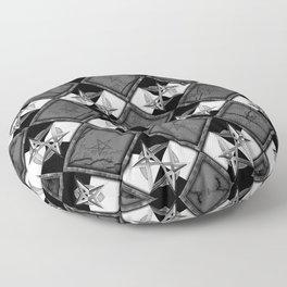 Unicursal Penta Pattern Floor Pillow
