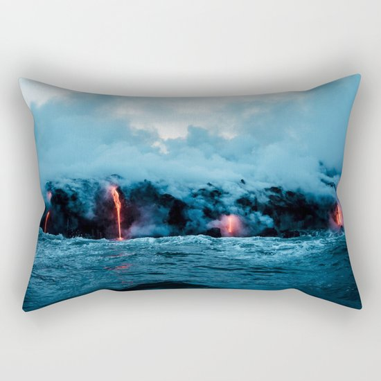 Rising New Earth Rectangular Pillow