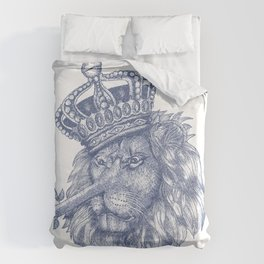 The Lying King Duvet Cover