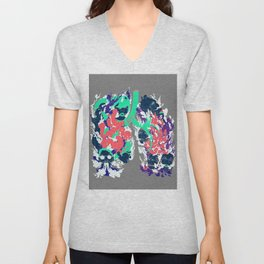 Lungs Unisex V-Neck