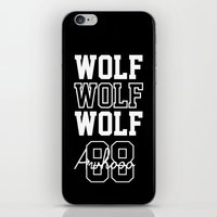 exo iPhone & iPod Skins featuring EXO  Wolf by Sara Eshak