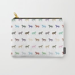 Colorful Horses Lantern Pattern  Carry-All Pouch