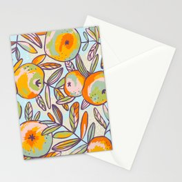 Bright apples Stationery Cards