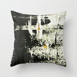 Palimpsest 3/8 - Piotr Tomalka Throw Pillow