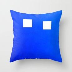 Minimalism Electric Blue Throw Pillow