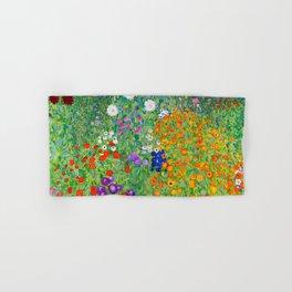 Flower Garden - Gustav Klimt Hand & Bath Towel