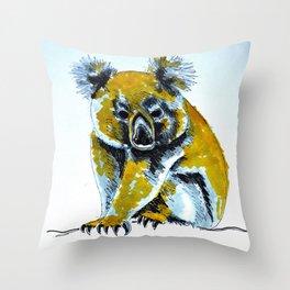 baby koala Throw Pillow