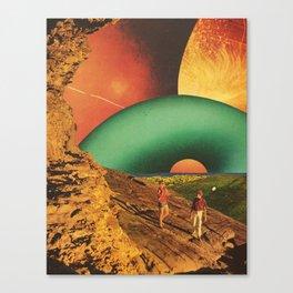 Eden in transition Canvas Print