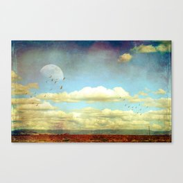 The Wide Open Road Canvas Print
