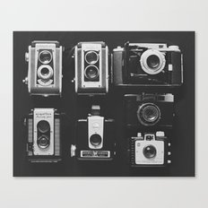 The Vintage Family Canvas Print
