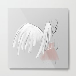 Thank your angels Metal Print