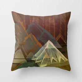 Piramidal 16.5.16 Throw Pillow