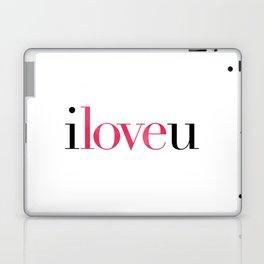 I Love U Laptop & iPad Skin