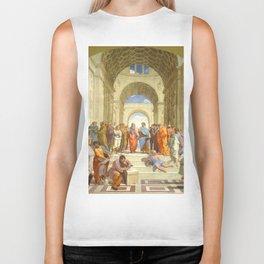 "Raffaello Sanzio da Urbino ""The School of Athens"", 1509-1510 Biker Tank"